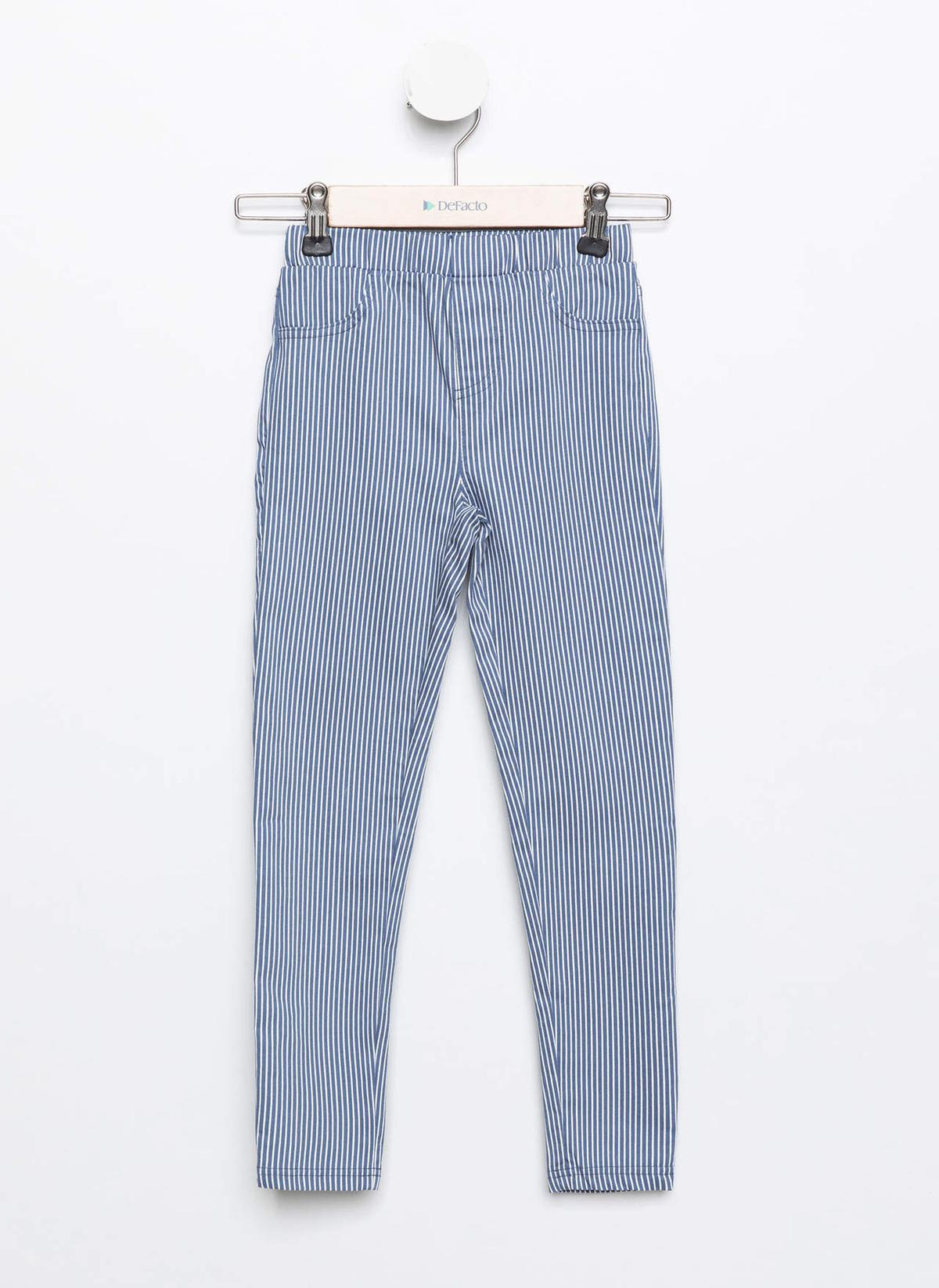 Defacto Pantolon K4789a619spbe458 Çizgili Skinny Fit Chin – 44.99 TL